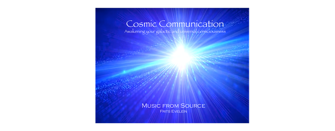 "Comes with the $50 pledge: Receive a digital download of this special Music Album: ""Cosmic Communication - Awaken your Galactic and Universal consciousness"" composed by Frits Evelein. This music takes you on a Galactic journey."